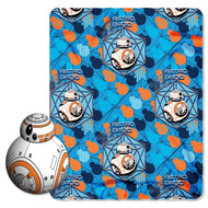 "Star Wars: ""BB-8"" Character Pillow & Fleece Throw Set"