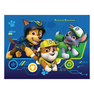 PAW Patrol Chase, Rubble and Rocky Pillow with Handle