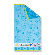 Pokemon Blue Bath Towel