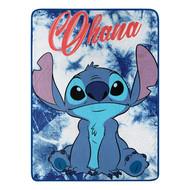 "Lilo and Stitch ""Ohana"" Super Plush Throw"