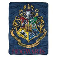 "Harry Potter ""Wizard Class"" Super Plush Throw"