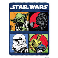 "Star Wars Classic ""Long Time Ago"" Fleece Throw"