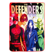 "Marvel The Defenders ""The Defenders Are Here"" Super Plush Throw"