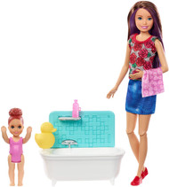 Barbie Skipper Babysitters Inc.: Bathtime Playset