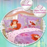 The Little Mermaid Reversible Purple Pillowcase