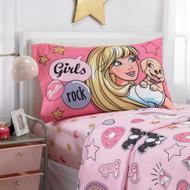 Barbie 'BFF Crew' Twin Size Sheet Set