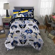 Batman Twin Size 5 PC. Bed Set + Bonus Tote