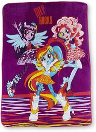 My Little Pony 'Equestria Girls' Micro Raschel Blanket
