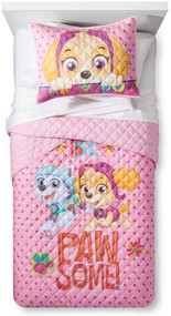 Paw Patrol Girls Twin/Full Quilt and Sham