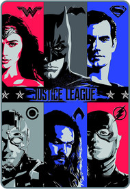 Justice League 'Icons of Justice' Plush Blanket