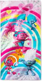DreamWorks Trolls 'Rainbow Explosion' Beach Towel