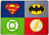 Justice League 'Power Pack' Area Rug