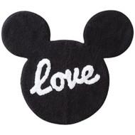 """Mickey Mouse """"Love"""" Bath Rug"""