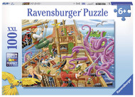 Ravensburger Pirate Boat Adventure 100 Piece Jigsaw Puzzle