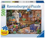 Ravensburger The Attic 500 Piece Jigsaw Puzzle