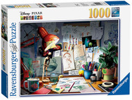 Ravensburger Disney/Pixar The Artist's Desk 1000 Piece Jigsaw Puzzle