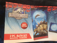 Jurassic World 2 Pc Bath Towel/Washcloth Set