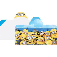 Minions Beach For All Hooded Beach Towel Wrap