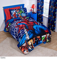 Marvel Spiderman Comic Twin Comforter