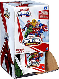 Marvel Super Hero Adventures 24 Pack Mystery Blind Box - Series 2