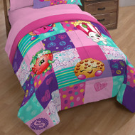Shopkins Fun Twin/Full Quilt and Sham Set
