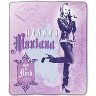 Disney Hannah Montana Micro Raschel Throw