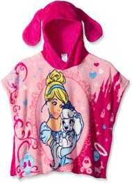 Disney Palace Pets Cinderella & Pumpkin Toddler Hooded Poncho