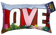 The Beatles 'Love' Decorative Pillow