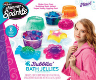 Shimmer 'N Sparkle Make Your Own Bubblin Bath Jellies