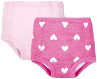 GERBER Baby Girls 4-Pack Training Pants - Pink (2T-3T)