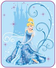 Disney Cinderella Sparkling Beauty Microraschel Blanket