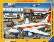 At The Airport See-Inside Frame Puzzle