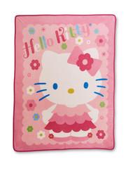 Hello Kitty Pastel Super Plush Throw