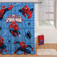 Marvel Spiderman Fabric Shower Curtain