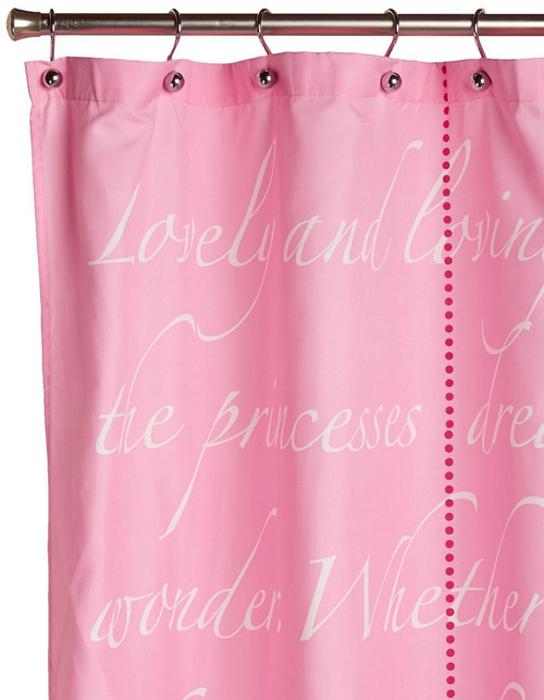 Disneys Princess Timeless Elegance Shower Curtain