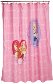 "Disney's Princess ""Timeless Elegance"" Shower Curtain"