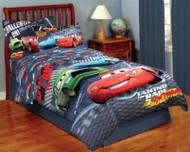 Disney/Pixar Cars 'The Challenge is on' Twin Comforter Set