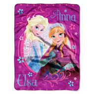 "Disney Frozen ""Loving Sisters"" Micro Raschel Throw"