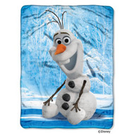 Disney Frozen Olaf Super Plush Throw