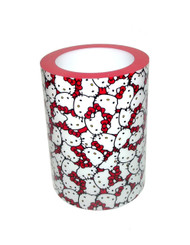 Hello Kitty Faces Cylindrical Flameless Candle Night Light