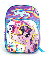 My Little Pony Purple 16 inch Backpack