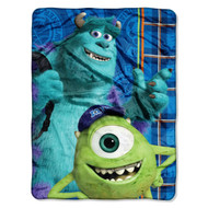 Monsters University, Greek Geeks Micro Raschel Blanket