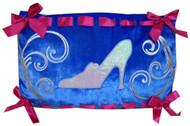 Princess Cinderella Blue Pillow