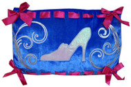 Princess Cinderella Blue Pillow