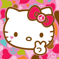 Hello Kitty Plush Pillow