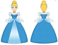 Disney Cinderella Ballroom Cuddle Pillow