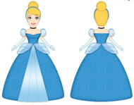 Disney Cinderella Ballroom Cuddle Pillow