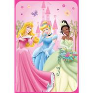 "Disney Princess ""Castle in a Forest"" Twin Blanket"