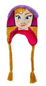 Disney Frozen Girls Anna Knit Hat