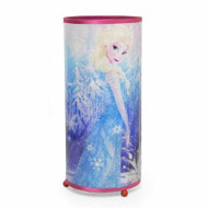 Frozen Elsa & Anna Cylinder Glitter Lamp Night Light